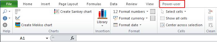 Poweruser Excel Tab 1