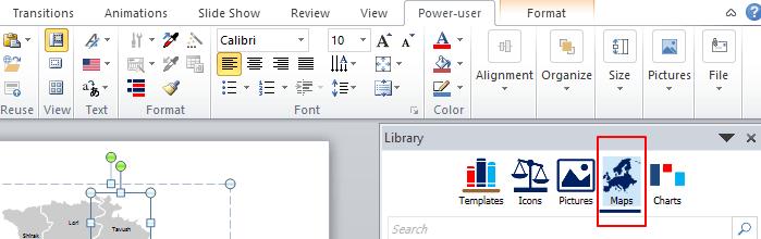Poweruser Map Icons