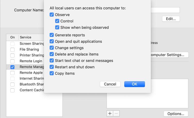 Remote Access Mac External Computer Remote Management
