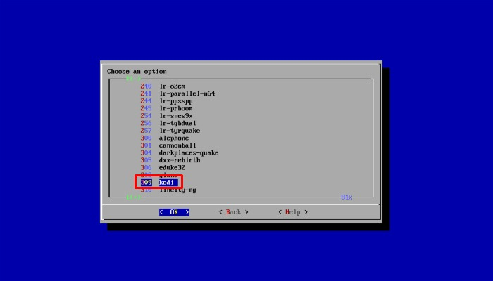 Rpi Kodi Install