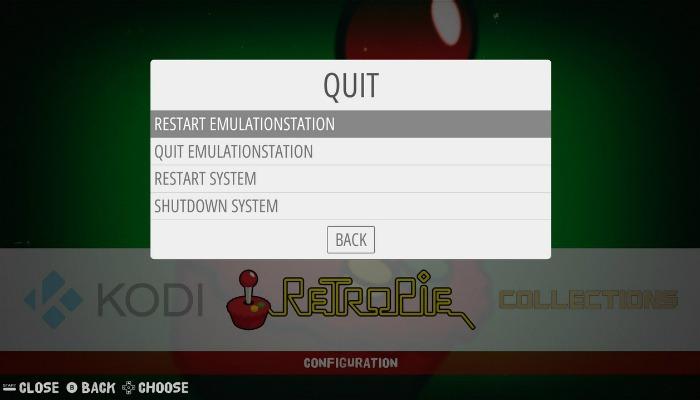 Rpi Kodi Restartemulationsystem
