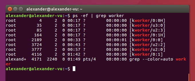 Use Ps On Linux Grep