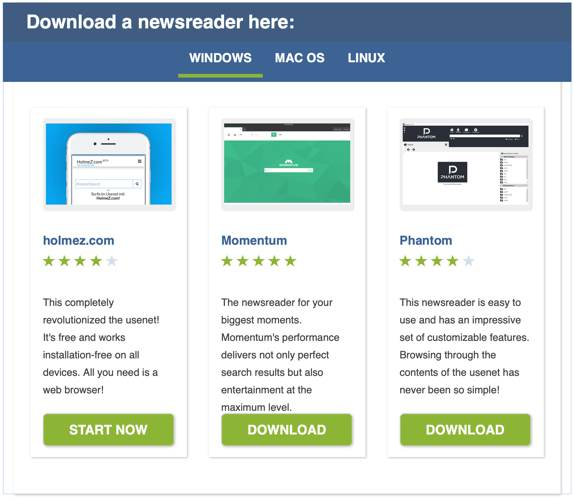 Usenext Review Newsreaders