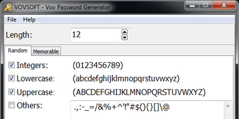 Vov Password Generator Featured