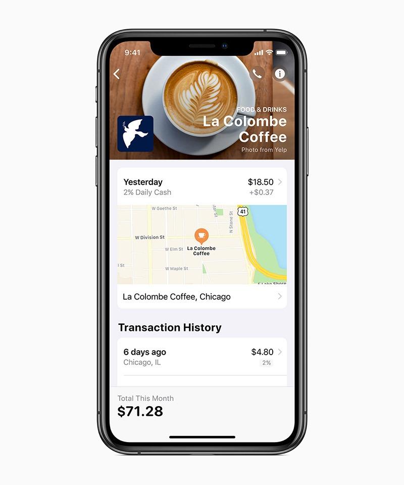 Apple Card Iphonexs La Colombe Coffee 032519