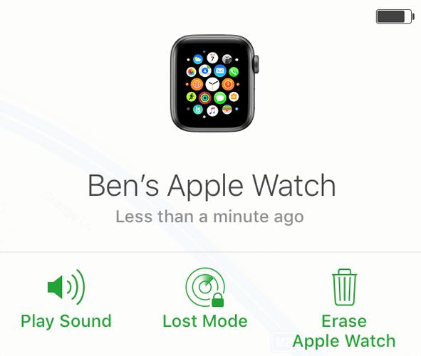Apple Watch Unpair Erase Apple Watch Icloud