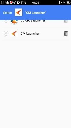 Cm Launcher Theme Select