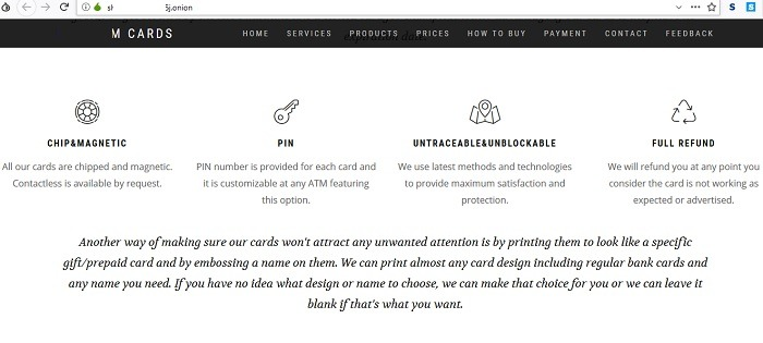 Credit Cards For Sale Dark Web