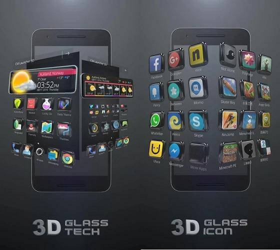 Glass Tech 3d