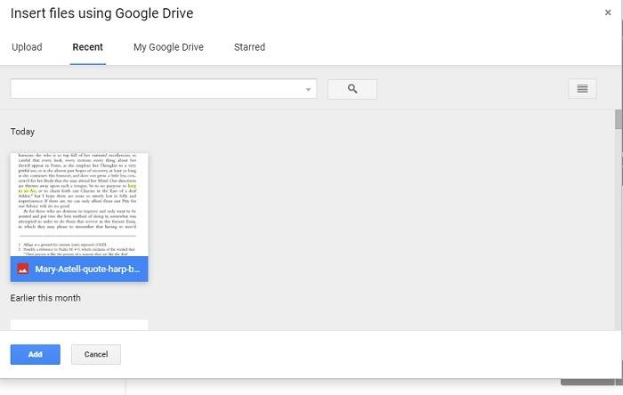Google Classroom Insert Google Drive