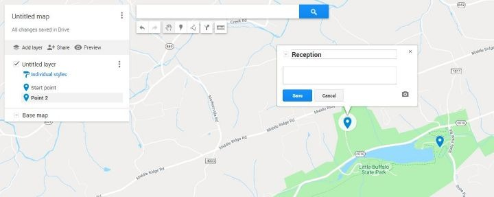 Google Map Pins Create Map