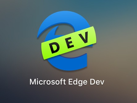 Microsoft Edge Mac Icon