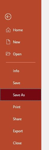 Reduce Size Powerpoint Compress All Images File Save As
