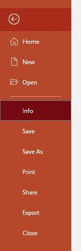 Reduce Size Powerpoint Image Edits File Info