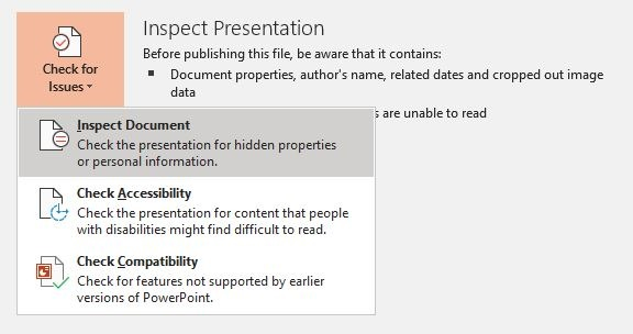 Reduce Size Powerpoint Image Edits Inspect Document