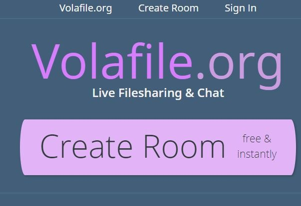 Volafile Create Room