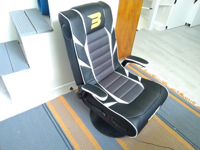 Brazen Panther Bluetooth Gaming Chair Review 2
