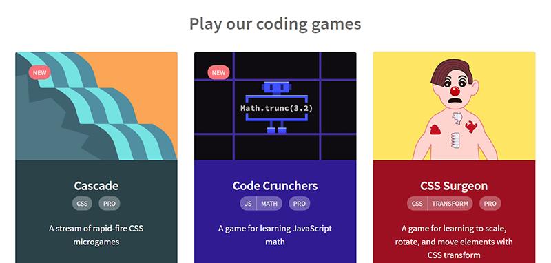 Css Games Codepip