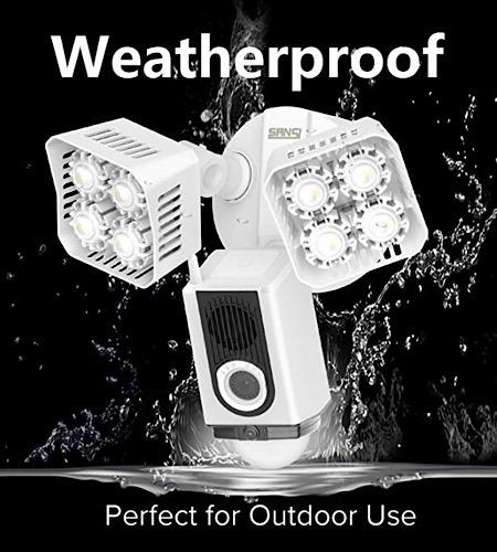 Deal Sansi Floodlight Security Camera Weatherproof