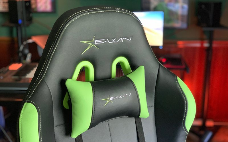 Ewin Calling Series Gaming Chair Review Neck Pillow