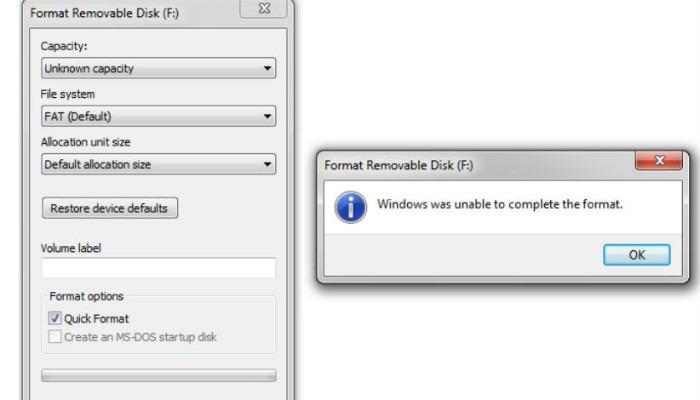 Fat32 Win Format