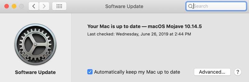 Fix Trackpad Macbook Up To Date