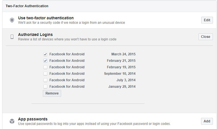 How To Log Out Of Facebook Authorized Logins