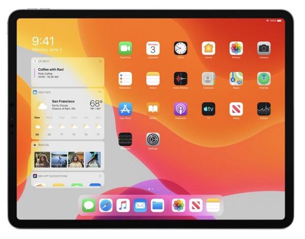 Ios 13 Ipad Home Screen