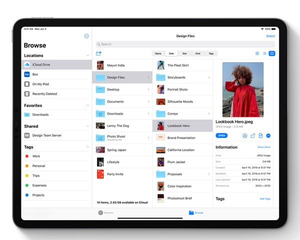 Ipados Overview Files