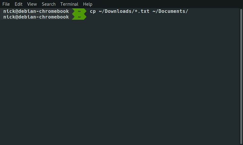 Linux Cli Copy All File Type
