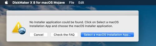 Macos Installer Diskmaker Select Installer