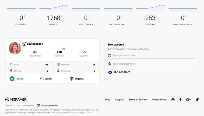 Review Ingramer Dashboard