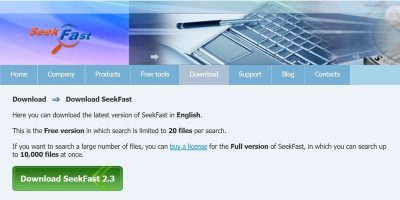 Seekfast Review Featured