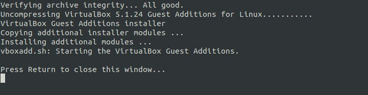 Virtualbox Guest Additions Ubuntu Prompts