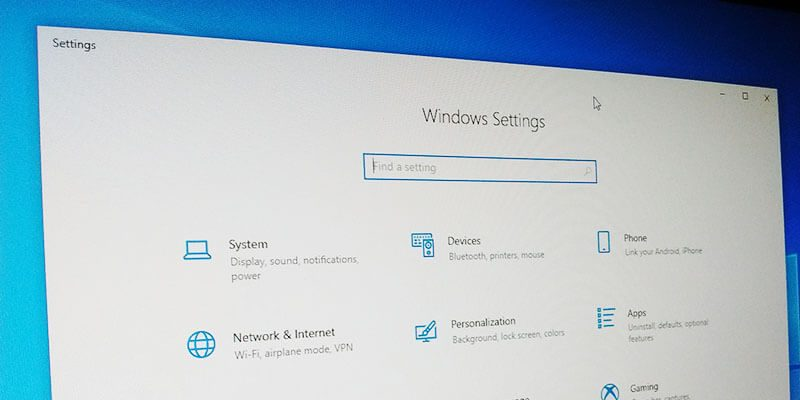 Win10 Options To Manage Featured