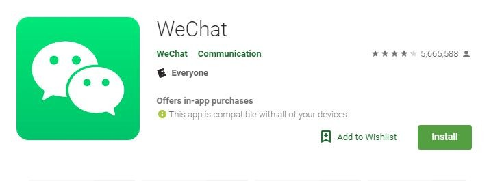 Android Video Calls Wechat