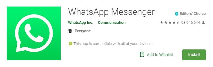 Android Video Calls Whatsapp