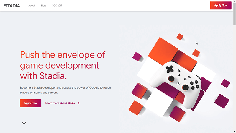 Cloud Gaming Google Stadia