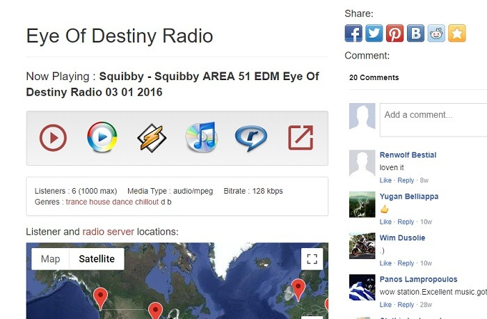 Example Radio Station Internet Radio