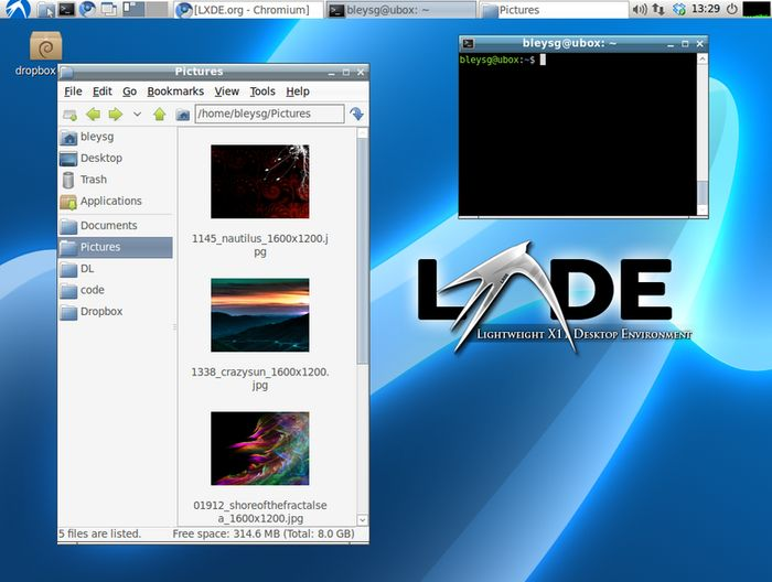 Linux Speed Lxde
