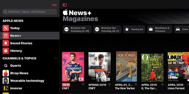 News Apple News+ Publishers Upset Magazines