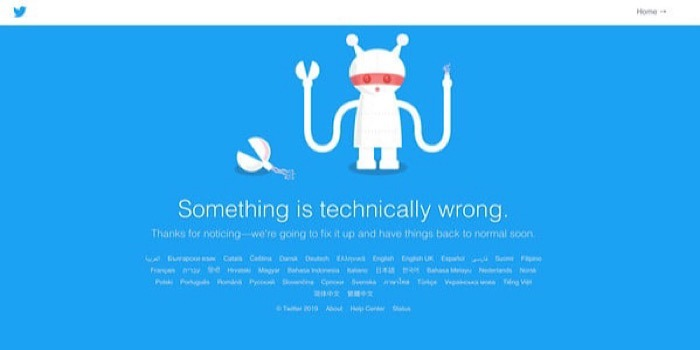 News Twitter Down Note