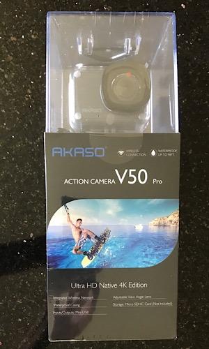 Review Akaso Action Camera Boxed