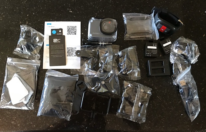 Review Akaso Action Camera Unboxed