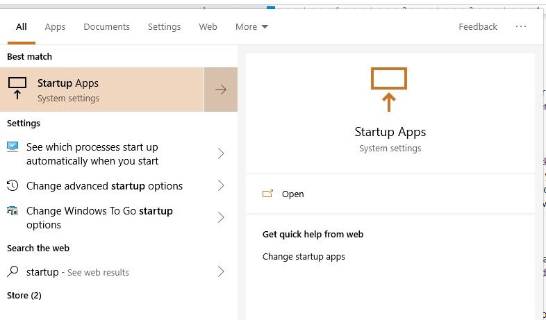 Slow Startup Programs Search For Startup Apps