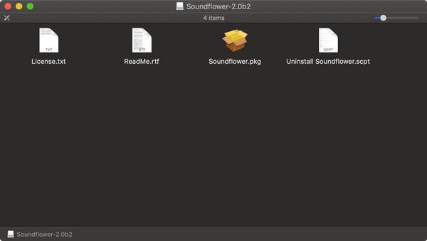 Soundflower Mac Installer Package