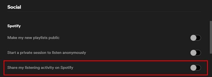 Spotify Desktopactivityy