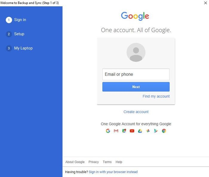 Backup Google Photos Backup And Sync Sign In