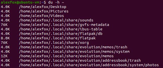 Best Du Commands Linux Terminal Human Readable