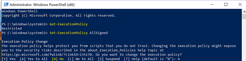 Chocolatey Install Powershell 1 Execution Policy